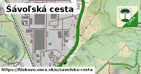 ilustrácia k Šávoľská cesta, Fiľakovo - 1,62km