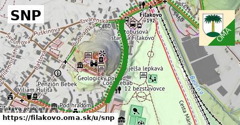 ilustrácia k SNP, Fiľakovo - 276m