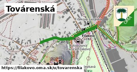 ilustrácia k Továrenská, Fiľakovo - 380m