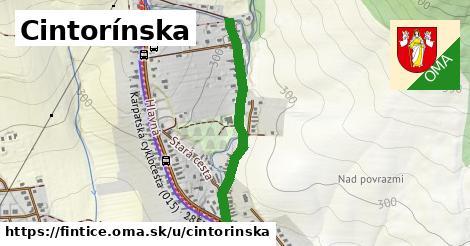 ilustrácia k Cintorínska, Fintice - 414m
