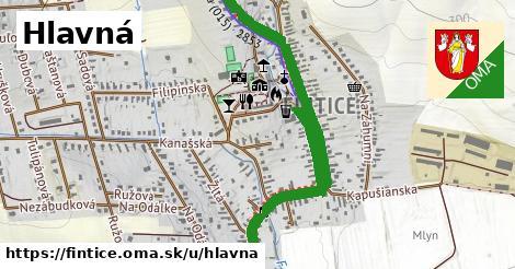 ilustrácia k Hlavná, Fintice - 2,5km