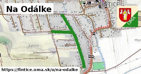 ilustrácia k Na Odálke, Fintice - 625m