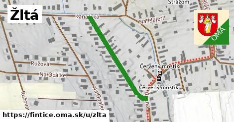ilustrácia k Žltá, Fintice - 325m
