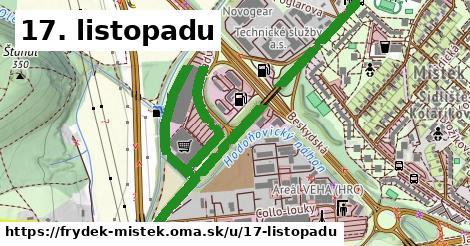 ilustrácia k 17. listopadu, Frýdek-Místek - 2,8km