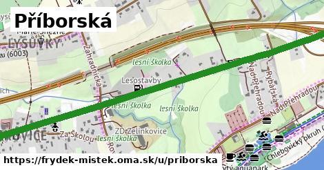 ilustrácia k Příborská, Frýdek-Místek - 7,3km
