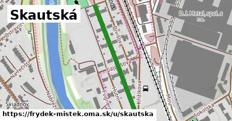 ilustrácia k Skautská, Frýdek-Místek - 374m