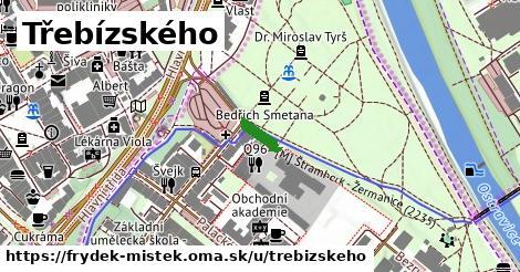 ilustrácia k Třebízského, Frýdek-Místek - 65m