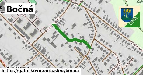 ilustrácia k Bočná, Gabčíkovo - 252m