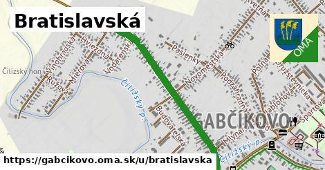ilustrácia k Bratislavská, Gabčíkovo - 1,02km