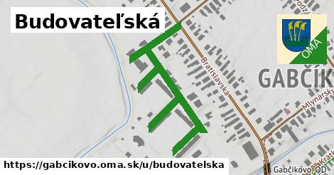 ilustrácia k Budovateľská, Gabčíkovo - 620m