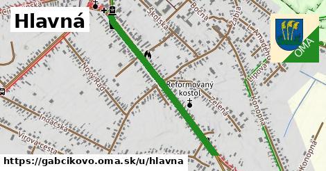 ilustrácia k Hlavná, Gabčíkovo - 0,95km