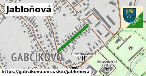 ilustrácia k Jabloňová, Gabčíkovo - 209m