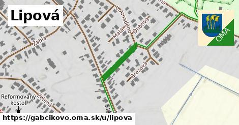 ilustrácia k Lipová, Gabčíkovo - 148m