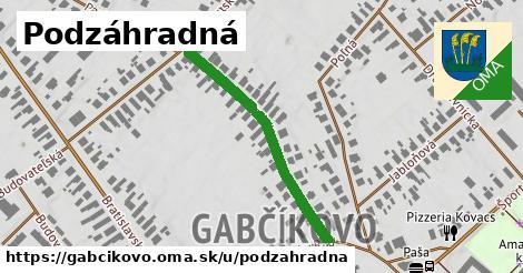 ilustrácia k Podzáhradná, Gabčíkovo - 356m