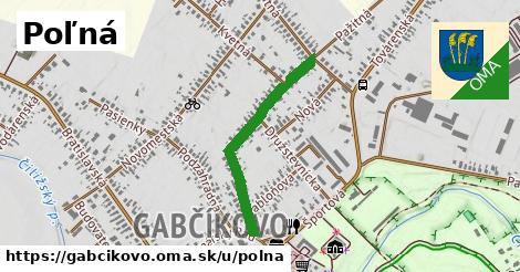 ilustrácia k Poľná, Gabčíkovo - 623m