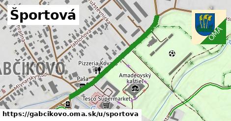 ilustračný obrázok k Športová, Gabčíkovo