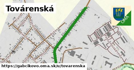 ilustrácia k Továrenská, Gabčíkovo - 0,81km