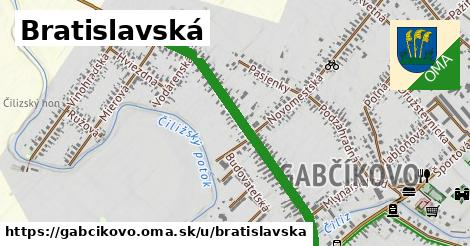 Bratislavská, Gabčíkovo