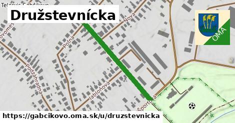 Družstevnícka, Gabčíkovo