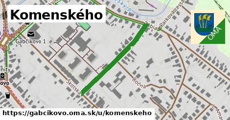 Komenského, Gabčíkovo