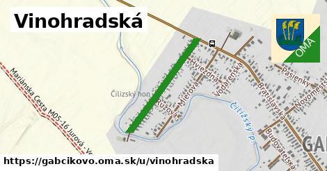 ilustrácia k Vinohradská, Gabčíkovo - 533m