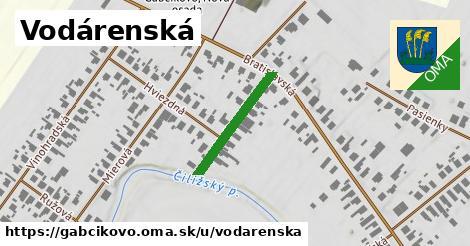ilustrácia k Vodárenská, Gabčíkovo - 204m