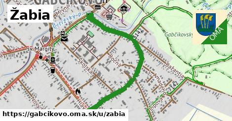 ilustrácia k Žabia, Gabčíkovo - 1,04km