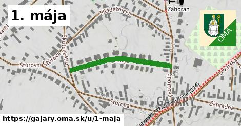 ilustrácia k 1. mája, Gajary - 320m