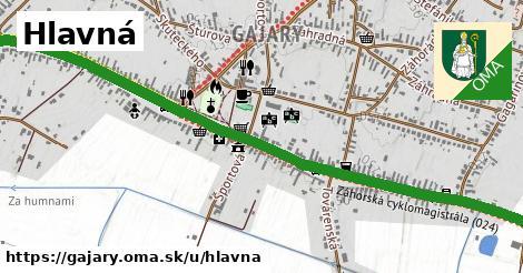 ilustrácia k Hlavná, Gajary - 2,5km