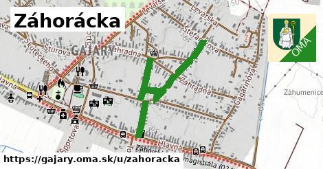 ilustračný obrázok k Záhorácka, Gajary