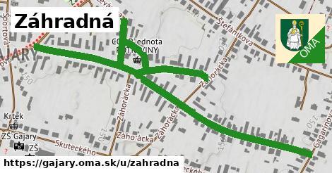 ilustrácia k Záhradná, Gajary - 1,06km