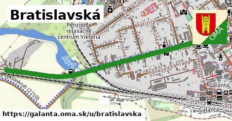 ilustrácia k Bratislavská, Galanta - 1,50km