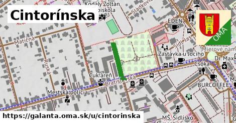 ilustrácia k Cintorínska, Galanta - 122m