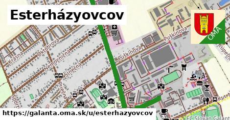 ilustrácia k Esterházyovcov, Galanta - 1,02km