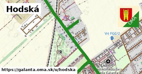 ilustrácia k Hodská, Galanta - 2,8km
