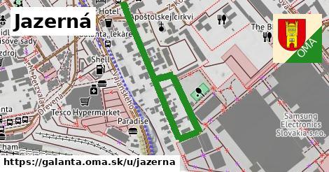 ilustrácia k Jazerná, Galanta - 560m