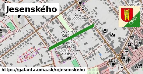 ilustrácia k Jesenského, Galanta - 265m