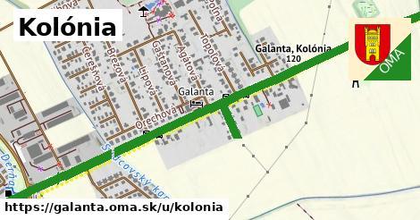 ilustrácia k Kolónia, Galanta - 2,1km