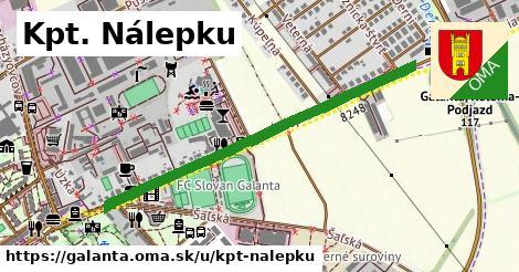 ilustrácia k Kpt. Nálepku, Galanta - 467m