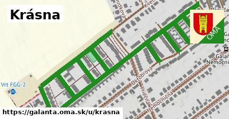 ilustrácia k Krásna, Galanta - 1,64km