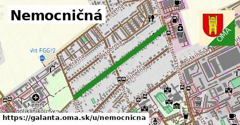 ilustrácia k Nemocničná, Galanta - 0,72km