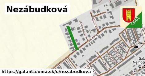ilustrácia k Nezábudková, Galanta - 130m