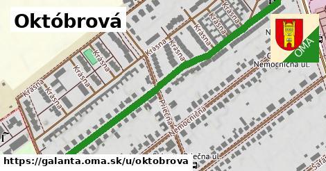 ilustrácia k Októbrová, Galanta - 668m