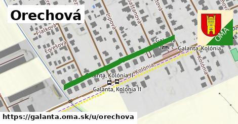 ilustrácia k Orechová, Galanta - 380m