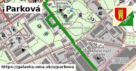 ilustrácia k Parková, Galanta - 622m