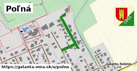 ilustrácia k Poľná, Galanta - 245m