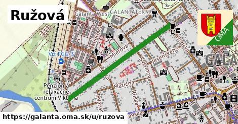 ilustrácia k Ružová, Galanta - 0,79km