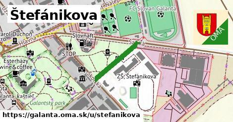 ilustrácia k Štefánikova, Galanta - 183m