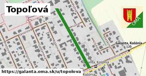ilustrácia k Topoľová, Galanta - 358m