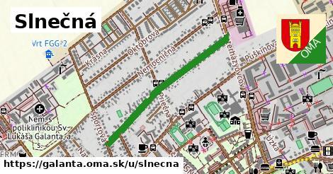 ilustrácia k Slnečná, Galanta - 0,73km